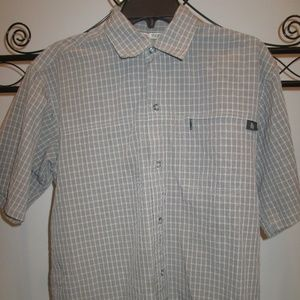 The North Face Men's Button-Up Tekware Gray Small